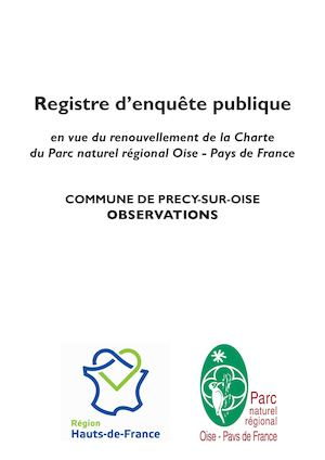 Registre Precy Sur Oise Observations