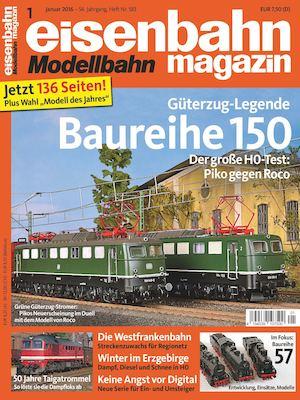 Calaméo - Eisenbahn Modellbahn Magazin 01 2016