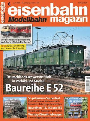 Eisenbahn Modellbahn Magazin 06 2016