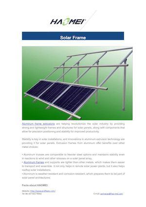 Calaméo - Solar Frame
