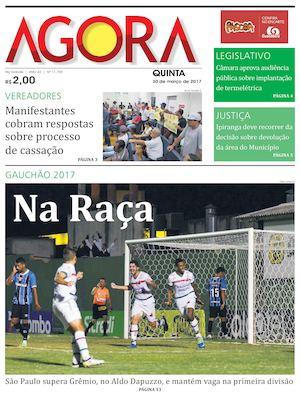 Calaméo - Jornal Agora - Edição 11709 - 30 de Março de 2017 6a96189c414