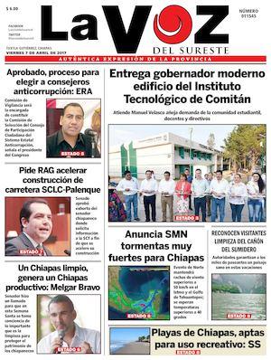 Calaméo - Diario La voz del Sureste 665cd789001ce