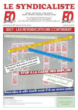Calameo Le Syndicaliste 1er Trimestre 2017