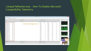 microsoft compatibility telemetry disk usage