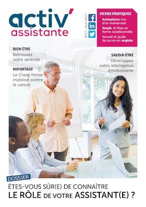 Activ Assistante Magazine Numéro 17 Avril 2017