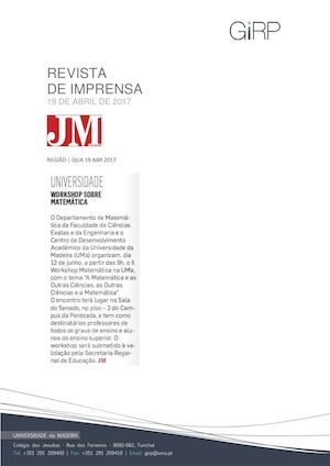 Revista de Imprensa de 19 de Abril de 2017
