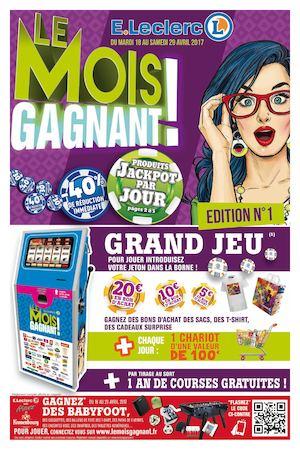 Calaméo Le Mois Gagnant édition 1 V1