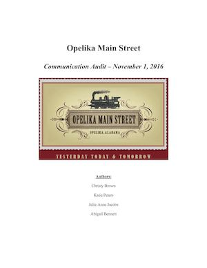 Opelika Main Street Media Analysis (1)