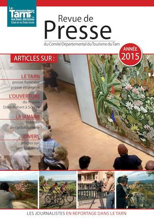 Calaméo Revue De Presse 2015 Tarn Tourisme