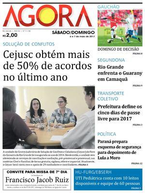 2c2d93ffa06 Calaméo - Jornal Agora - Edição 11738 - 6 e 7 de Maio de 2017