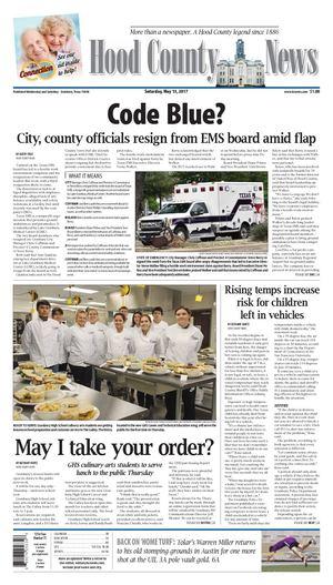 Hood County News, Saturday, May 13, 2017