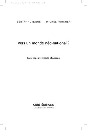 Vers un monde néo-national