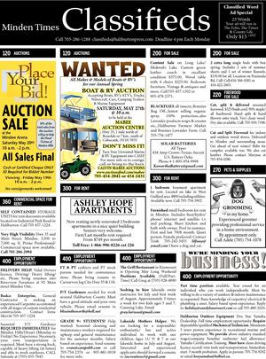 Classifieds May 18, 2017
