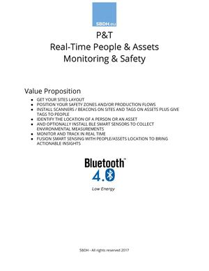 SBDH PT Real Time People Assets Safety White Paper