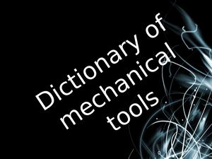 dictionary of tools 1259651
