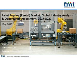 Pallet Pooling (Rental) Market to Expand at a CAGR of 6.6%, through 2007