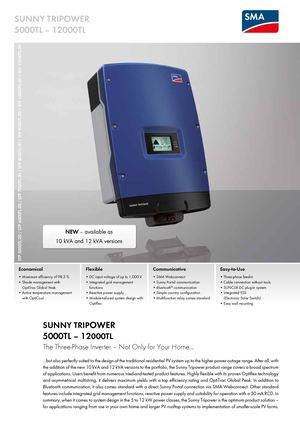 Calaméo - SUNNY TRIPOWER STP 5000TL-20 / STP 6000TL-20 / STP 7000TL