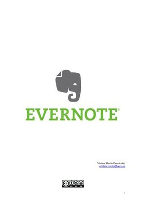 Evernote Francisco Javier Cervigon Ruckauer