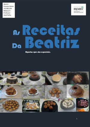 As Receitas da Beatriz