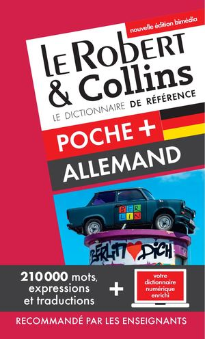 LE ROBERT & COLLINS POCHE+ ALLEMAND