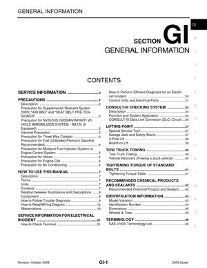 2009 nissan quest manual