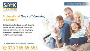 Syk One Off Cleaning London