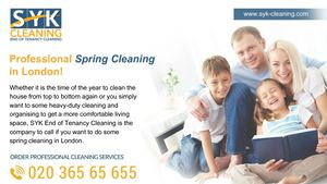 Syk Spring Cleaning London