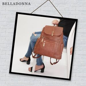 Look Extremely Stylish With This Updated Backpack In Pebbled Faux Leather From Belladonna Handbags 92100