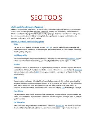 best SEO high ranking Tips