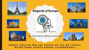 Regards D'europe Sainte Sophie Ce1(1)