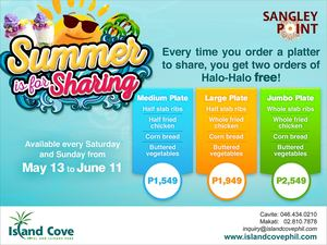 Enjoy Two Free Halo Halo Orders At Island Coves Sangley Point Valid Until June 11 2017 92133