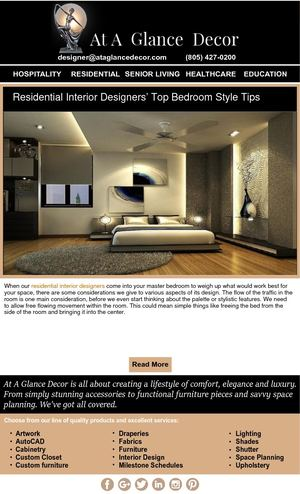 Residential Interior Designers' Top Bedroom Style Tips