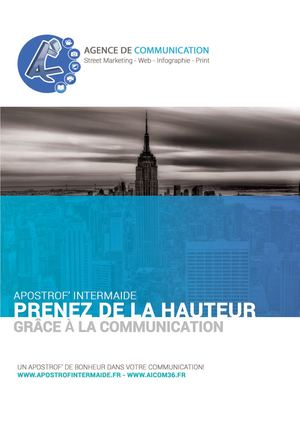 Brochure commerciale 2017 - Agence Apostrof' Intermaide