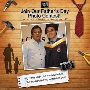 Join The Fathers Day Photo Contest At The Sandwich Guy Valid Until June 16 2017 92367