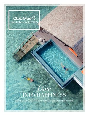 Club Med Exclusive Collection Brochure