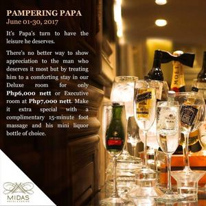 Its Papas Turn To Have The Leisure He Deserves At Midas Hotel On June 1 30 201792438 92438