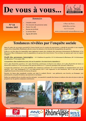 journal de quartier n°14