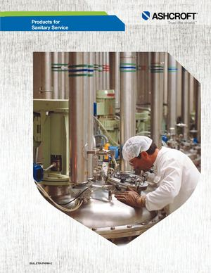 Ashcroft  / Industry Brochure Sanitary Pharm 2 A