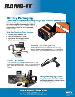 BAND-IT / Battery Packaging