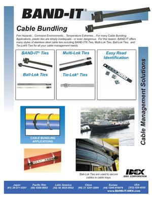 BAND-IT / Cable Bundling