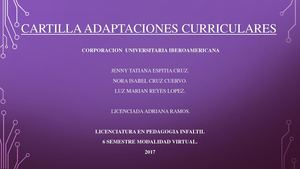 Cartilla Adaptaciones Curriculares Semana 7