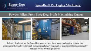 Rotary Filling Machines From Spee Dee