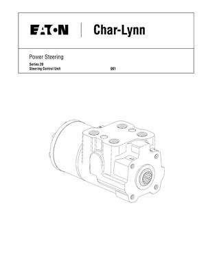 Char-Lynn / Power Steering / Pll 1589