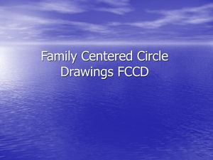 Family Centered Circle Drawings FCCD