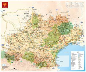 Calam o occitanie carte touristique 2017 - Office de tourisme d albi ...