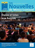 Les journal municipal d'information Nouvelles de Moissy-Cramayel Étoiles et toiles à La Rotonde Lire pages 6-7 Renouvellement urbain : réunion publique le 19 juin Lire page 5 N° 259 juin 2017