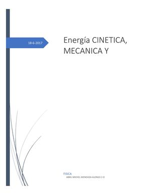 Calaméo Energia Cinetica Mecanica Y Potencial
