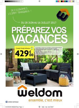 Calaméo - Vacances Weldom