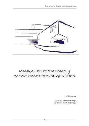 Calaméo - Manual De Problemas de Genética Humana