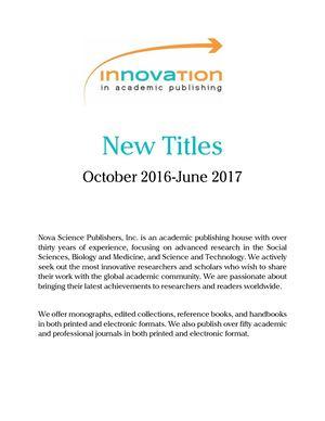 967e20d51 Calaméo - Catalog_2017-Nova Science Publishers